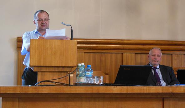 Zbigniew Dyrdoń i prof. Zenon Piech