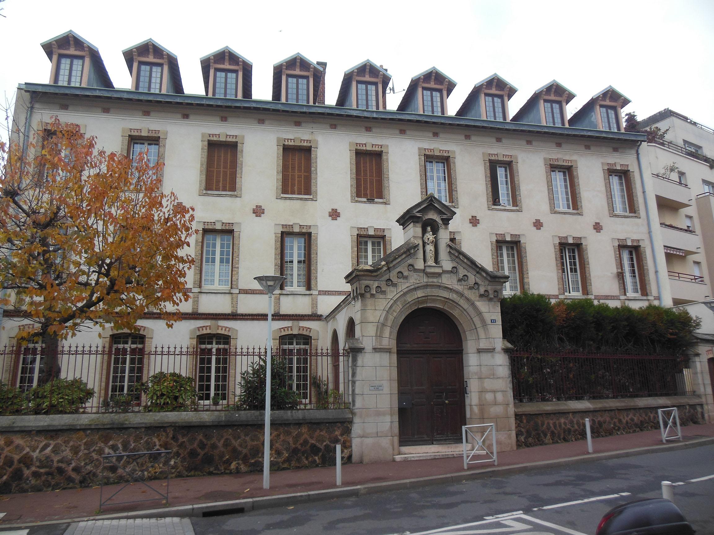 Budynek byłego seminarium polskiego – siedziba archiwum