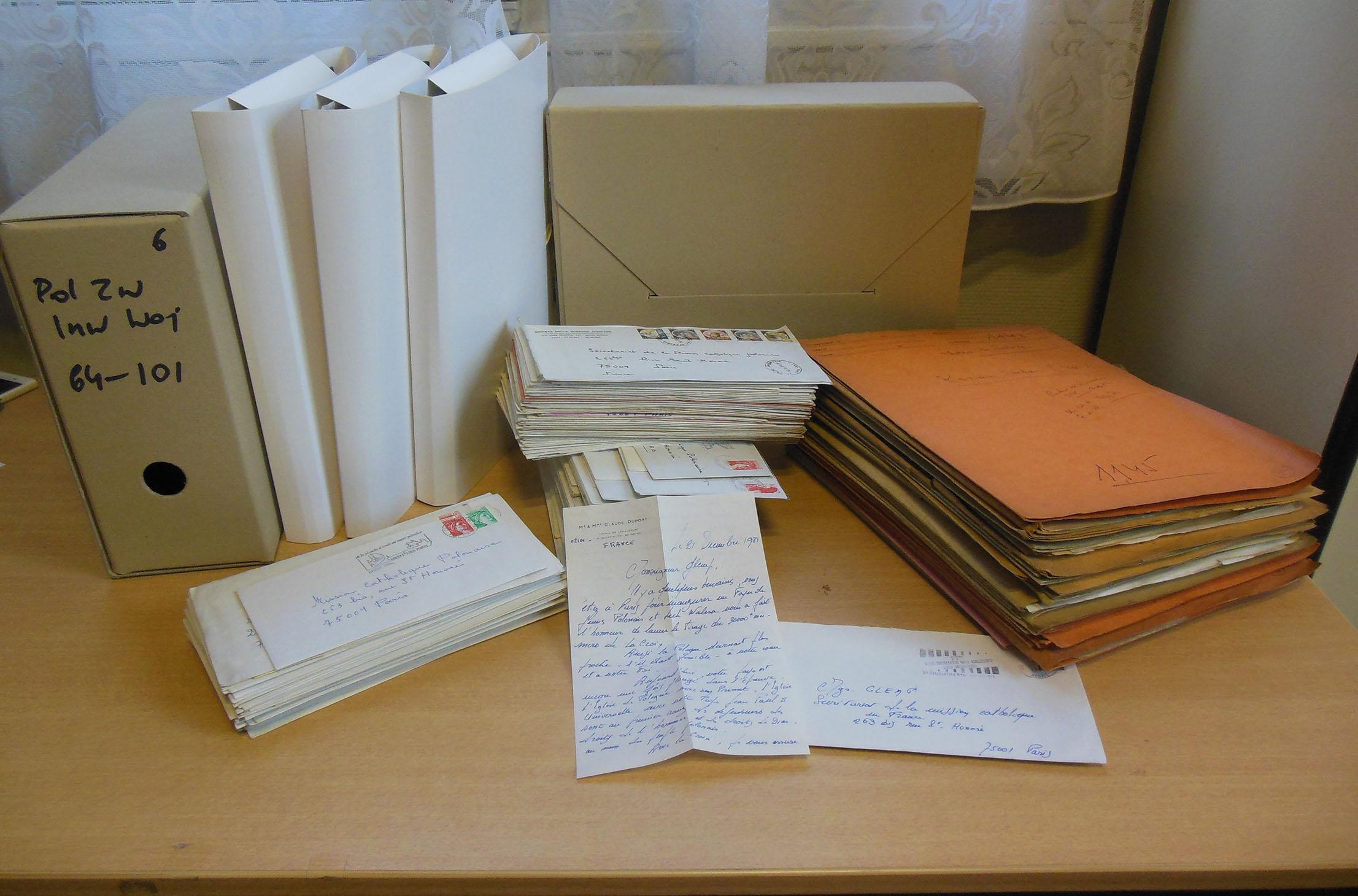 Dokumentacja archiwum PMK we Francji w trakcie opracowania